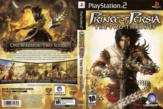 prince of persia the two thrones العاب بلايستيشن 2