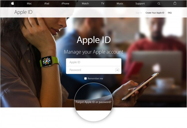 نسيت Apple ID للايفون